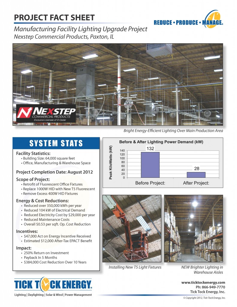 Nexstep Lighting Upgrade