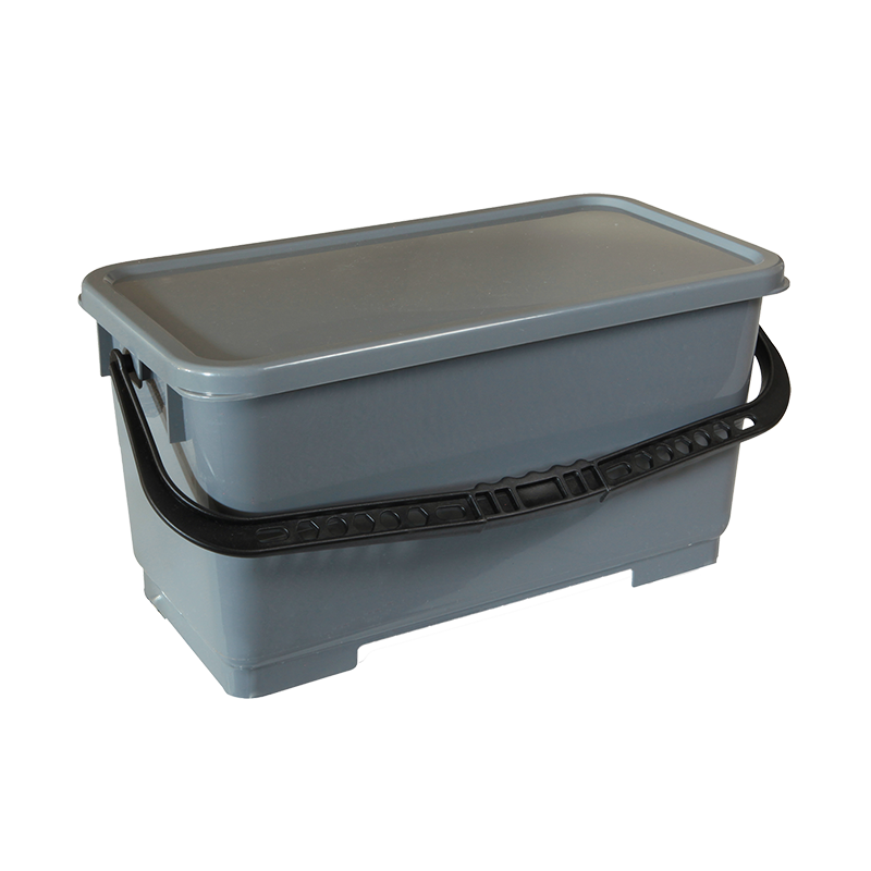 Microfiber Charging Bucket W Lid Amp Strainer Nexstep