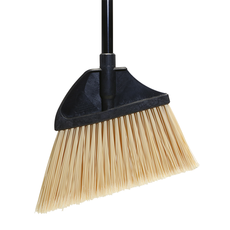 91351 MaxiPlus® Professional Angle Broom with Dust Pan – Flagged