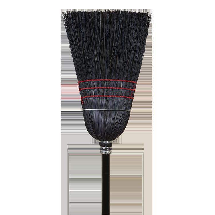 Warehouse Black Corn Broom