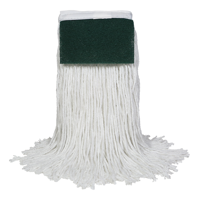 Neptune™ Rayon Cut-End Mops with Scrub Pad