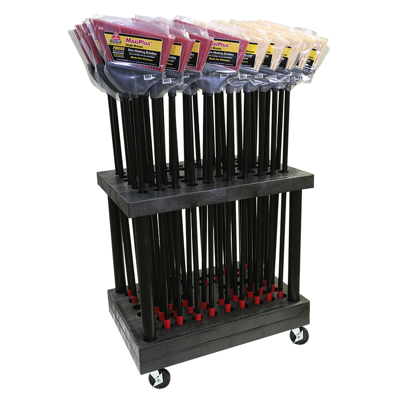 Long Handle Display Cart