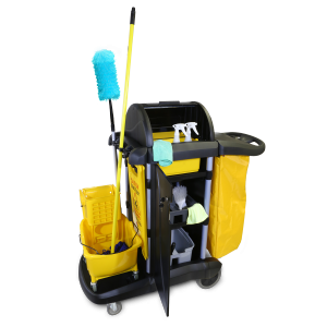 96997 MaxiRough Deluxe Janitor Cart JanSan